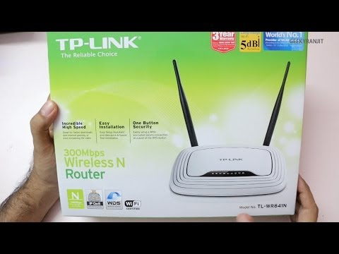 TP-Link N300 TL-WR841N Budget WiFi Router Unboxing