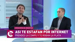 ARGENTINA: Ola de phishing y estafas por internet en plena #Cuarentena