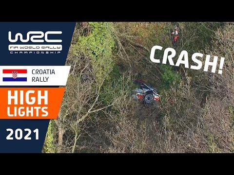 WRC 2021 第3戦ラリー・クロアチア SS1-4ハイライト動画