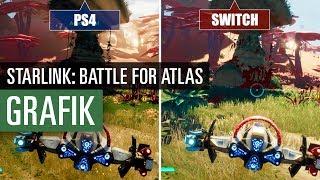 Starlink: Battle for Atlas (PS4 vs. Switch) Grafikvergleich