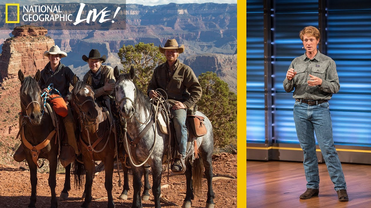 Why Four Cowboys Rode Wild Horses 3,000 Miles Across America (Part 1) | Nat Geo Live thumbnail
