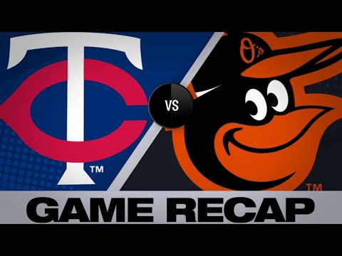 Rosario's 2 homers lifts Twins past Orioles - 4/20/19