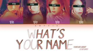 YOUR GIRL GROUP - 'What's Your Name' (Original (G)I-DLE)   Color Coded Lyrics Eng/Rom/Han/가사)