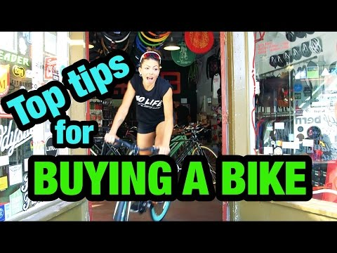 7 Tips For Buying Your First Bike | KymNonStop