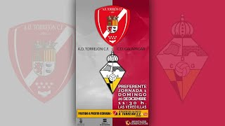 R.F.F.M. - CATEGORÍA PREFERENTE (Grupo 1) - Jornada 1 (Reprogramada) - A.D. Torrejón C.F. 0-4 C.D. Galapagar