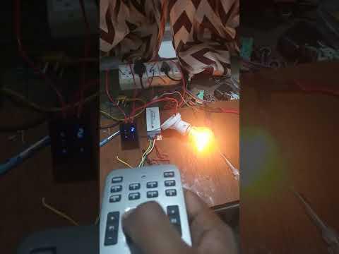 Touch & Remote Control Fan Module
