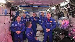 Astronautas da Estação Espacial Internacional (26:46)