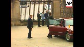 Czech Republic - The Pope Meets Vaclav havel