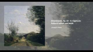 Divertimento, Op. 22