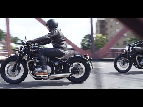 2020 Triumph Bonneville Bobber Black in Shelby Township, Michigan - Video 1