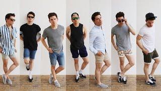Men's Style   Shorts Lookbook