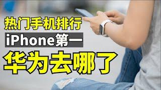 热门手机更新 I 第一是iPhone,华为手机在热门手机排行下跌【时事追踪】