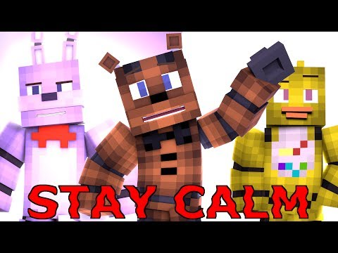 """Stay Calm"" - FNAF Minecraft Music Video [Song by Fandroid]"