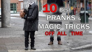 TOP 10 PRANKS & Magic tricks OF ALL TIME - Julien Magic