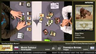 World Magic Cup Round 3 (Team Sealed): Uruguay vs. Slovak Republic