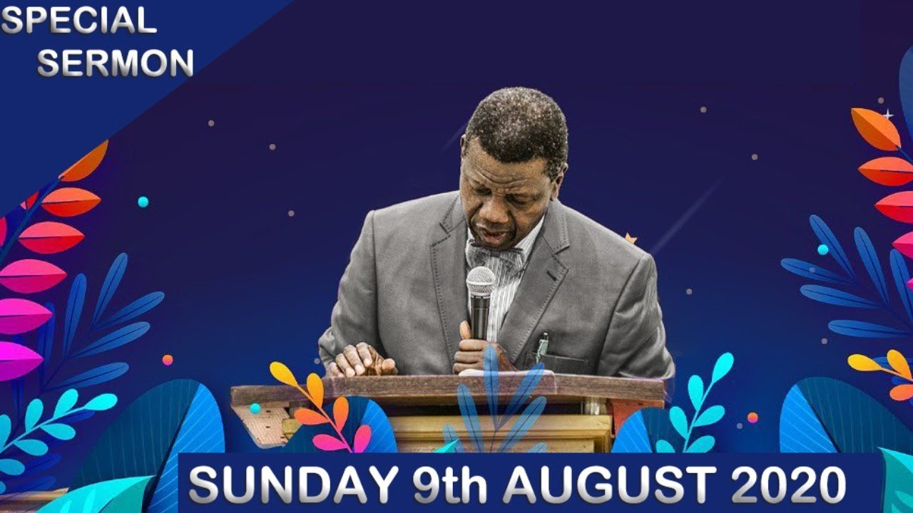 RCCG Holy Ghost Convention 9th August 2020 Thanksgiving Service