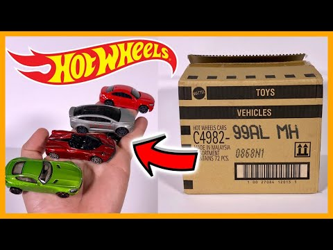 Opening Cars From 2018 Hot Wheels L Case
