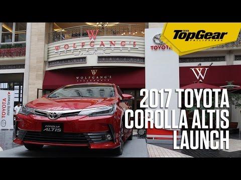The 2017 Toyota Corolla Altis