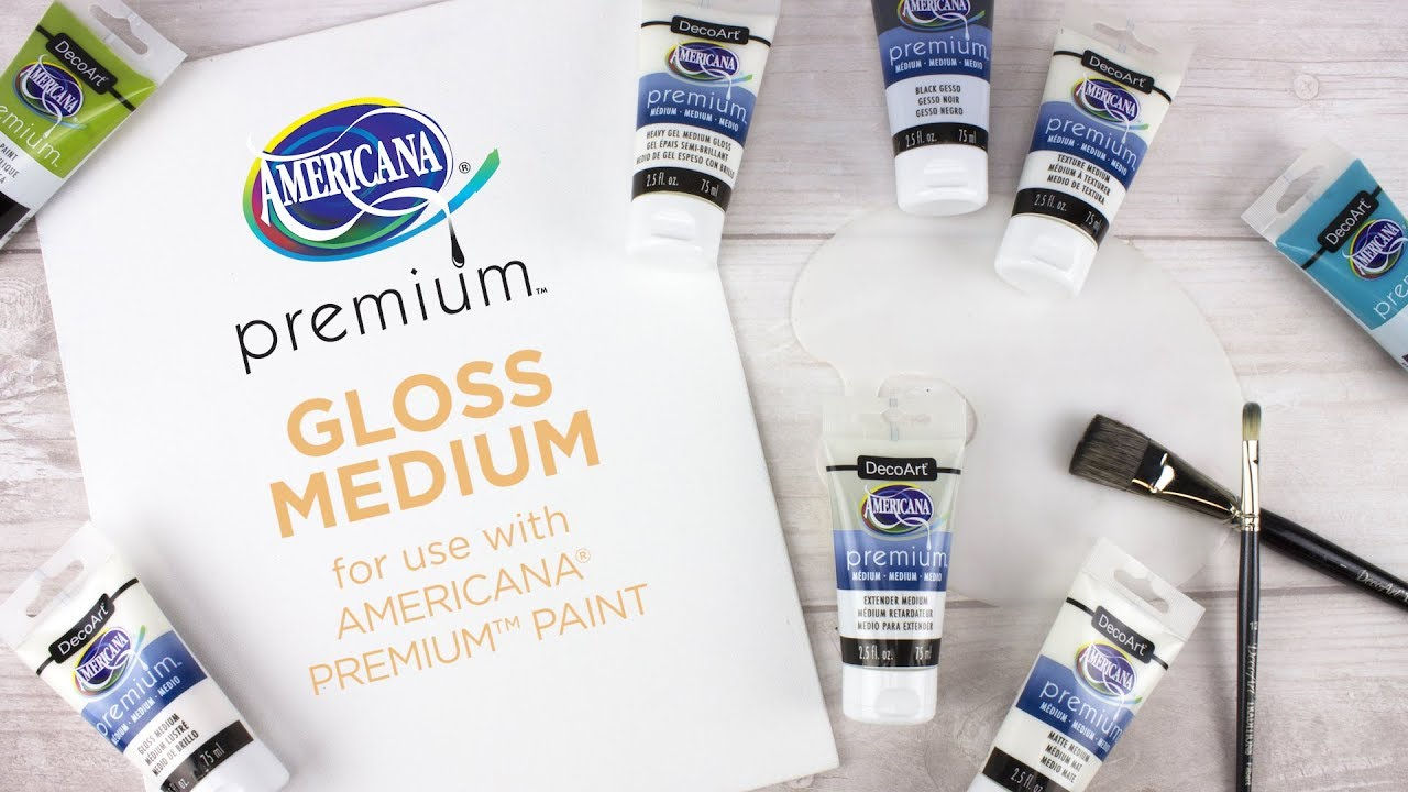 DecoArt Americana Premium Gloss Medium, 75 ml