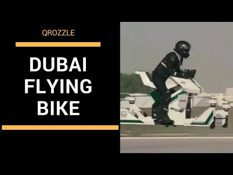 Dubai Police HoverBike - HoverSurf Scorpion 3 - Qrozzle