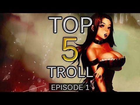 Top 5 pha troll bá đạo nhất trong LMHT