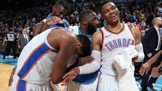 Westbrook NBA Record! George 47 Pts Triple Double! 2018-19 NBA Season