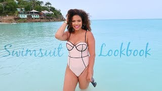 5ac969c11db84 Curvy Girl Swimsuit Lookbook 2018 - Sexy, Flattering, One Piece Swimsuits!