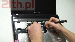 How To Replace Keyboard In Laptop Packard Bell NEW91, Remove Keyboard