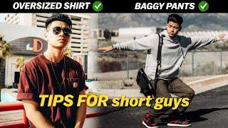 STYLE TIPS FOR Short Guys | Short Guy Fashion