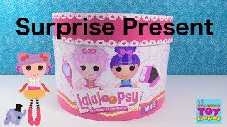 Lalaloopsy Minis Surprise Present Unboxing Series 3 Purses Toy Review | PSToyReviews