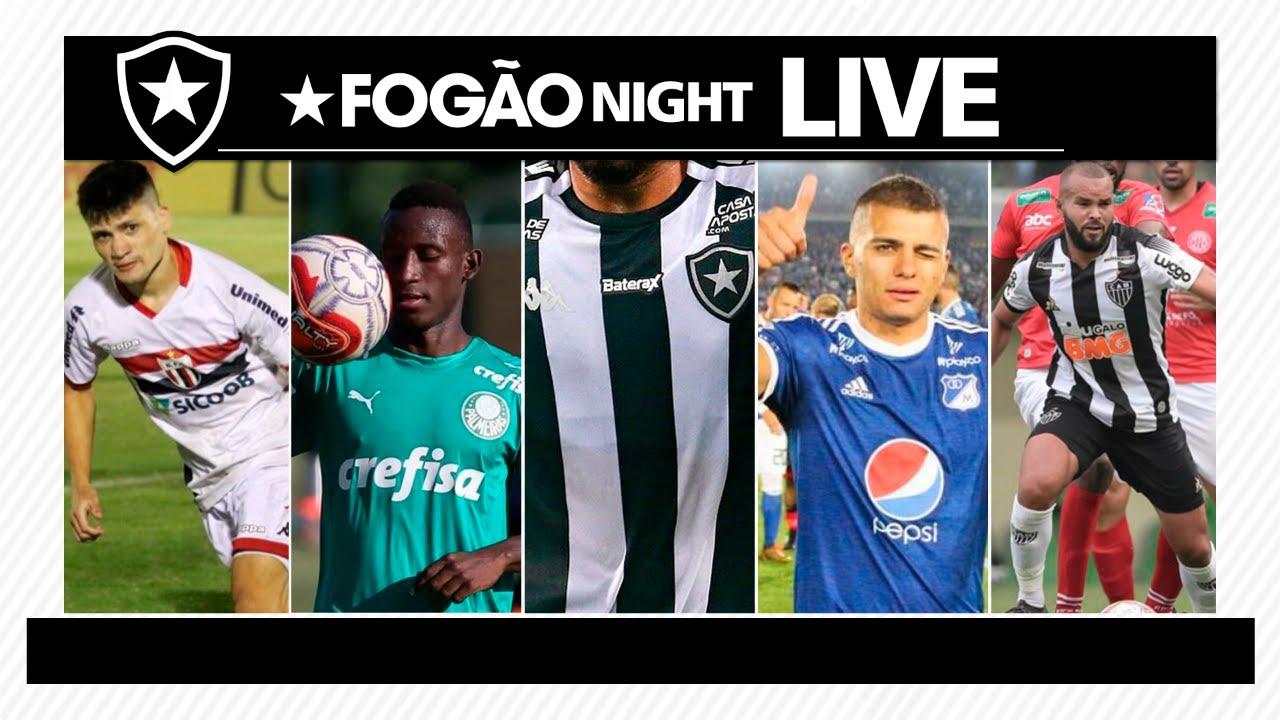 LIVE | Botafogo busca contratações de Ronald, Angulo, Jhon Duque e José Welison e acerta com patrocinador