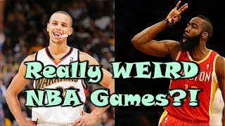 5 Of The WEIRDEST Games in NBA History