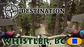 A couple of buddies and I went to Whistler to ride for a week. We spent three days in the bike park and it was glorious. As far as free ride trails, we rode Blue Velvet, Crank it Up, C-More, South Park, Earth Circus, Blueberry Bathtub, and B-Line.