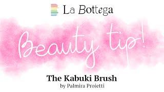WONDERBORSTELTJE!!! supersnel gemaquilleerd met de kabuki brush.. Samen met minerale poederfoundatio