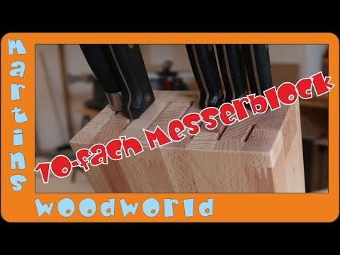 Bau deinen eigenen, coolen Messerblock