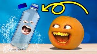 Annoying Orange - The Water Bottle Flip Challenge