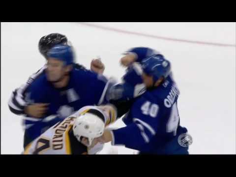 Adam McQuaid vs Phil Oreskovic
