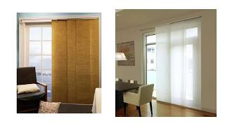Window Treatments for Sliding Glass Doors in Kitch