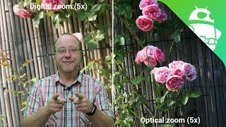 How optical zoom works on a smartphone - Gary explains