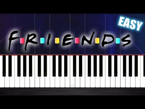 FRIENDS THEME - EASY Piano Tutorial by PlutaX