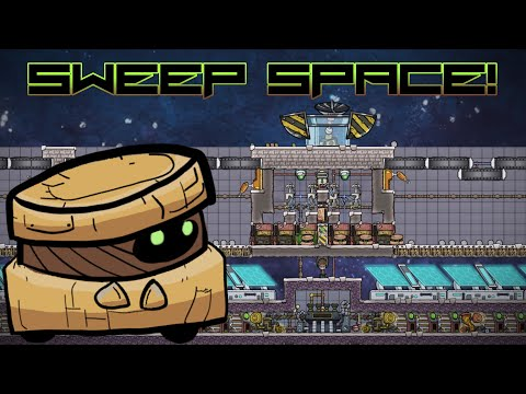 Sweep SPACE! Oxygen Not Included Experiment