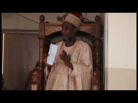 Sheik muhammad bn uthman abu ASIM hafizahullah present khuduba hausa version