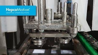 Guidage DualVee pour application avec lavage sous pression