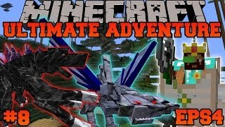 Minecraft: Ultimate Adventure - STATUE DUNGEON - EPS4 Ep. 8 - Let's Play Modded Survival
