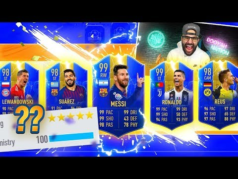 YES! INSANE HIGHEST RATED TOTS DRAFT!! FIFA 19 Ultimate Team Draft Challenge