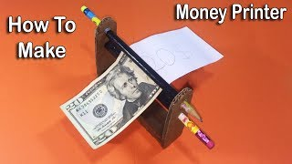 How to Make Money Printer Machine Magic - Easy Trick Life Hack