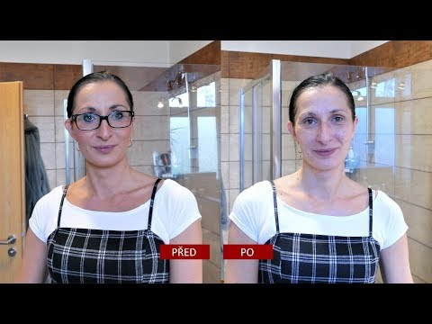 Jak odstranit záhyby na pokožce obličeje