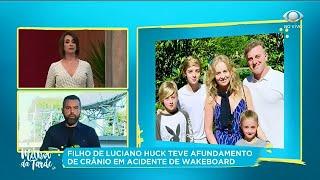 Filho De Luciano Huck Sofre Acidente E é Operado