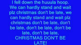 Alvin and the chipmunks Christmas song lyrics
