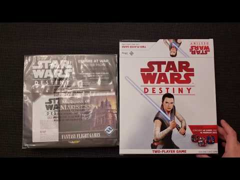 Star Wars Destiny - Whats in the Box?